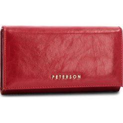 Portfele damskie: Duży Portfel Damski PETERSON - 466-14-03-01 Red