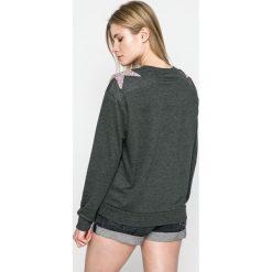 Sublevel - Bluza. Szare bluzy damskie marki Sublevel, l, z aplikacjami, z bawełny, bez kaptura. W wyprzedaży za 79,90 zł.