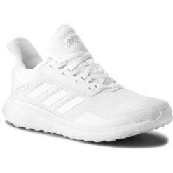 Buty adidas - Duramo 9 B96580 Ftwwht/Ftwwht/Lgrani. Białe buty do biegania męskie Adidas, z materiału. W wyprzedaży za 189,00 zł.