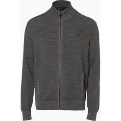 Polo Ralph Lauren - Kardigan męski z wełny merino, szary. Szare swetry rozpinane męskie Polo Ralph Lauren, m, z dzianiny, polo. Za 759,95 zł.