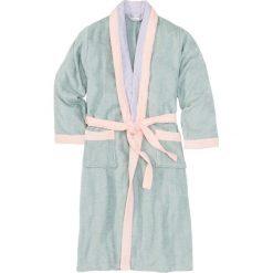 Szlafrok frotte bonprix jasny miętowy - bez - jasnoróżowy. Niebieskie szlafroki kimona damskie bonprix, z bawełny. Za 89,99 zł.