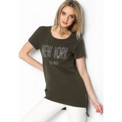 Bluzki damskie: Khaki Tunika Big Apple
