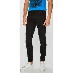 G-Star Raw - Jeansy Motac. Czarne jeansy męskie slim G-Star RAW, z bawełny. Za 599,90 zł.