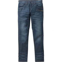 """Dżinsy Regular Fit Tapered bonprix ciemnoniebieski """"used"""". Niebieskie jeansy męskie regular bonprix. Za 139,99 zł."""