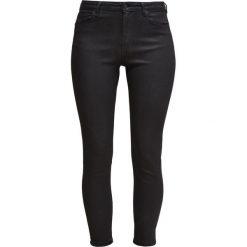 Topshop JAMIE SKINNY ANKLE Jeansy Slim Fit black. Czarne rurki damskie Topshop. W wyprzedaży za 174,30 zł.