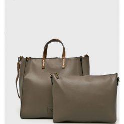 Nobo - Torebka. Szare torebki klasyczne damskie Nobo, z materiału, duże. Za 229,90 zł.