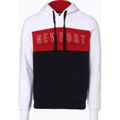 Bluzy męskie: North Sails - Męska bluza nierozpinana, czerwony