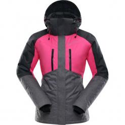 """Kurtka narciarska """"Sardara"""" w kolorze czarno-szaro-różowym. Czarne kurtki damskie marki Alpine Pro, m, z materiału. W wyprzedaży za 587,95 zł."""