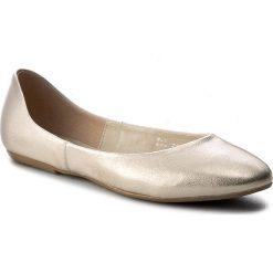 Baleriny BALDACCINI - 779500-2 Złoto Janko. Żółte baleriny damskie marki Baldaccini, ze skóry, na płaskiej podeszwie. W wyprzedaży za 169,00 zł.