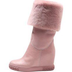 Buty zimowe damskie: Casadei CAMPIGLIO Śniegowce rose