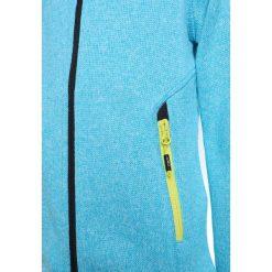 CMP GIRL JACKET FIX HOOD Kurtka z polaru ocean/anice. Niebieskie kurtki dziewczęce sportowe marki CMP, z materiału. W wyprzedaży za 134,10 zł.