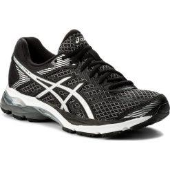 Buty ASICS - Gel-Flux 4 T764N Black/Silver/Carbon 9093. Czarne buty do biegania damskie Asics, z gumy. W wyprzedaży za 269,00 zł.