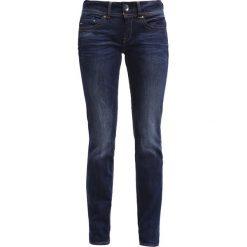 GStar MIDGE SADDLE MID STRAIGHT  Jeansy Straight Leg denim. Niebieskie jeansy damskie G-Star. Za 459,00 zł.