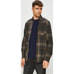 Tom Tailor Denim - Koszula. Czarne koszule męskie na spinki marki TOM TAILOR DENIM, l, w kratkę, z bawełny, button down, z długim rękawem. Za 169,90 zł.