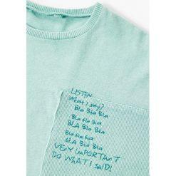 Mango Kids - T-shirt dziecięcy South 110-164 cm. Szare t-shirty męskie z nadrukiem marki Mango Kids, z bawełny. Za 49,90 zł.