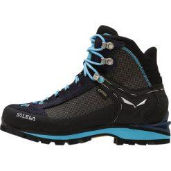 Buty zimowe damskie: Salewa CROW GTX Obuwie górskie premium navy/ethernal blue
