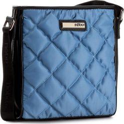 Torebka NOBO - NBAG-C1741-C012 Niebieski. Niebieskie listonoszki damskie marki Nobo, z materiału. W wyprzedaży za 139,00 zł.