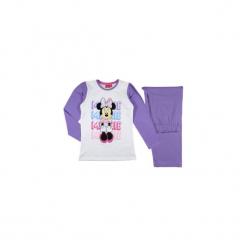 Piżama dziewczęca Myszka Minnie we wzory. Białe bielizna dziewczęca marki Reserved, l. Za 29,99 zł.