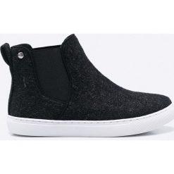 Big Star - Botki. Czarne buty zimowe damskie marki BIG STAR, z gumy. W wyprzedaży za 69,90 zł.