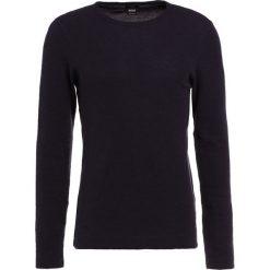 Swetry klasyczne męskie: BOSS Orange TEMPEST Sweter dark blue