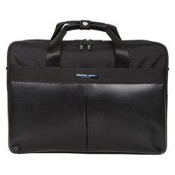 Torby na laptopa: Torba w kolorze czarnym na laptopa – 15 l