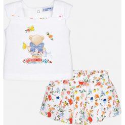 Mayoral - Komplet dziecięcy (top + szorty) 68-98 cm. Czarne bluzki dziewczęce bawełniane marki bonprix, z nadrukiem. Za 149,90 zł.