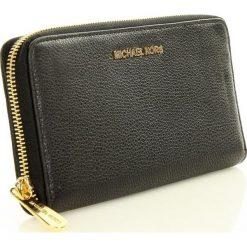 Portfel travel MICHAEL KORS - BEDFORD - black. Czarne portfele damskie Michael Kors, ze skóry. Za 499,00 zł.