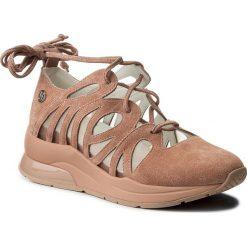 Creepersy damskie: Półbuty LIU JO - Sneaker Joan B18025 P0079 Pink 00239