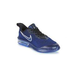 Buty Dziecko Nike  AIR MAX SEQUENT 4 RFL GRADE SCHOOL. Niebieskie trampki chłopięce Nike. Za 379,00 zł.