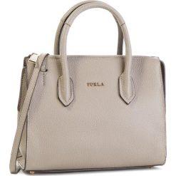 Torebka FURLA - Pin 1000887 B BMN1 OAS Sabbia b. Szare torebki klasyczne damskie Furla, ze skóry. Za 1290,00 zł.