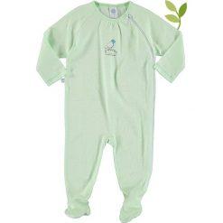 Pajacyki niemowlęce: Pajacyk w kolorze zielono-białym