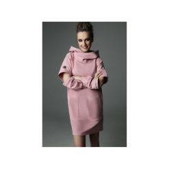 Sukienka Holey Freak - dirty pink. Czarne sukienki dzianinowe marki Sinsay, l, z kapturem. Za 289,00 zł.