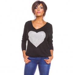 """Sweter """"Stef"""" w kolorze czarnym. Czarne swetry oversize damskie marki So Cachemire, s, z kaszmiru. W wyprzedaży za 165,95 zł."""