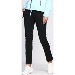 Spodnie damskie: Czarno-Niebieskie Spodnie Dresowe On My Own