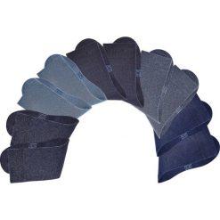 Skarpetki H.I.S (10 par) bonprix ciemnoniebieski. Niebieskie skarpetki męskie bonprix. Za 79,90 zł.