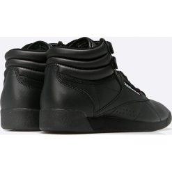 Reebok Classic - Buty Classic Freestyle Hi. Czarne buty sportowe damskie reebok classic Reebok Classic, z materiału. W wyprzedaży za 239,90 zł.