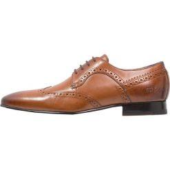 Ted Baker OLLIVUR Eleganckie buty tan. Brązowe buty wizytowe męskie Ted Baker, z materiału, na sznurówki. Za 589,00 zł.