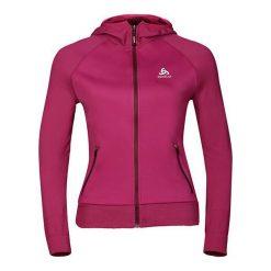 Odlo Bluza Tech. Hoody Midlayer ENDURBAN 2.0  Różowy r. S (349081S). Czarne bluzy sportowe damskie marki DOMYOS, z elastanu. Za 183,24 zł.