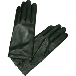 Rękawiczki - 32L VSC J18. Szare rękawiczki damskie marki Venezia, ze skóry. Za 169,00 zł.