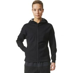 Bluzy damskie: Adidas Bluza damska ZNE DUO Hoodie czarna r. M (BS4918)