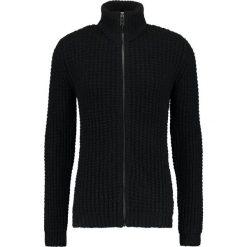 Swetry rozpinane męskie: Lindbergh ZIP Kardigan black