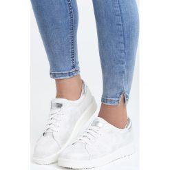 Buty sportowe damskie: Białe Buty Sportowe Dutch Girl