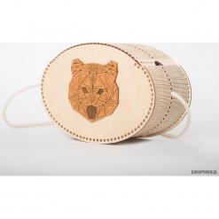Niedźwiedzia torebka. Szare torebki klasyczne damskie Pakamera. Za 259,00 zł.