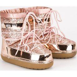 MODNE RÓŻOWE ŚNIEGOWCE. Czerwone buty zimowe damskie Merg. Za 139,00 zł.