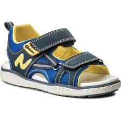 Sandały NATURINO - 0010502297.01.9101 S Bleu/Azzuro. Niebieskie sandały chłopięce Naturino, z materiału. W wyprzedaży za 279,00 zł.