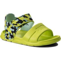 Sandały chłopięce: Sandały PUMA – Wild Sandal Injex Camo PS 365081 01 Peacoat/Limepunch