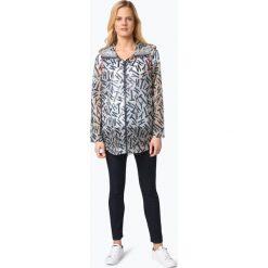 Płaszcze damskie: Tommy Hilfiger – Damski płaszcz przeciwdeszczowy – New Icon, niebieski