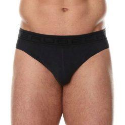 Majtki męskie: Brubeck Slipy męskie Comfort Cotton ciemnografitowe r. L (BE00290A)