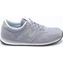 New Balance - Buty WL420NBA. Szare buty sportowe damskie marki New Balance, z materiału. W wyprzedaży za 239,90 zł.