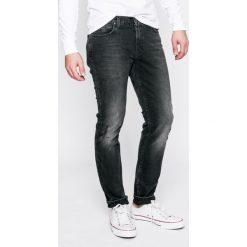 Lee - Jeansy Rider. Szare jeansy męskie slim marki Lee, z bawełny. W wyprzedaży za 249,90 zł.